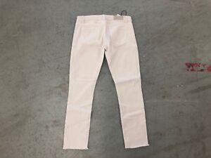 Skinny Taille Jarod Rips Jeans Au Beige Ladies Chalk 299 Stretch Iro Nwt 31 Genou 6qaIxP8