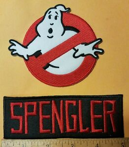 Ghostbusters-Name-Tag-Spengler-amp-No-Ghost-Cosplay-Costume-Uniform-patch