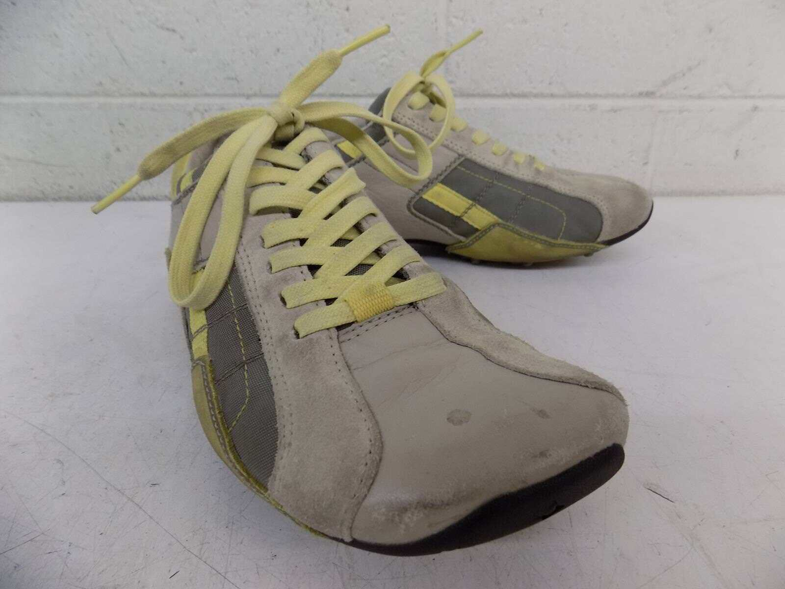Diesel Aquila Gray & Yellow 7 Women's Fashion Sneakers US 7 Yellow EXCELLENT LOOK e848ec