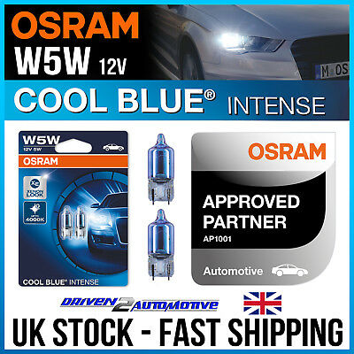 2x Citroen DS4 Genuine Osram Cool Blue Intense High Main Beam Headlight Bulbs