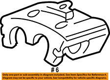 ford oem rear caliper eg1z2552c ebay Mustang Terminator ford oem 05 07 f 250 super duty rear brakes disc brake caliper