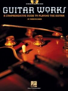 """guitar Works-un Guide Complet Pour Jouer De La Guitare"" Music Book/cd-neuf!!!-afficher Le Titre D'origine"
