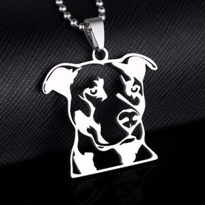 Stainless steel american pitbull terrier pitties head outline image is loading stainless steel american pitbull terrier pitties head outline aloadofball Choice Image