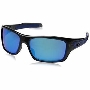 29ee04df844dd Oakley Men s Turbine OO9263-05 Iridium Rectangular Sunglasses for ...