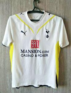 wholesale dealer b9b8a 6ddd5 Details about Puma Tottenham Hotspur 2009-10 Spurs Home Football Shirt  Soccer Jersey Mens Sz M