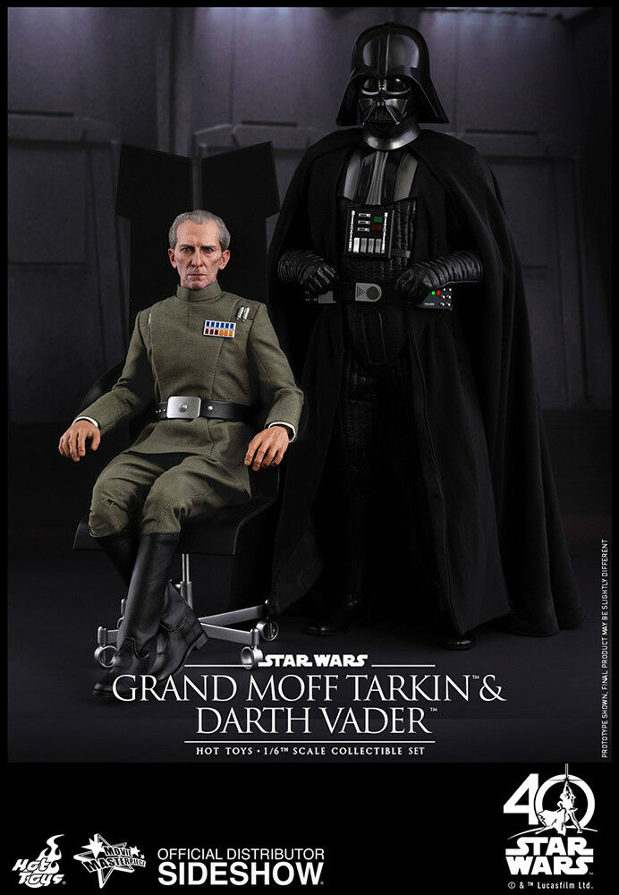 1/6 Star Wars Grand Moff Tarkin and Darth Vader MMS Hot Toys 903162