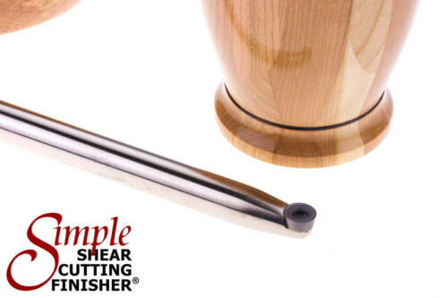 """Simple Woodturning Tools® Simple Shear Cutting Finisher® 12/"""" carbide lathe tool"""