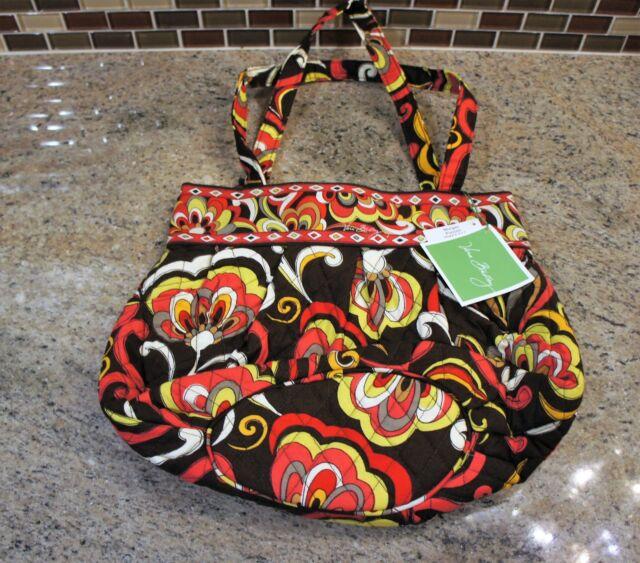 a89dd4351c4c Vera Bradley Morgan Tote Shoulder Hobo Purse Bag in Puccini for sale ...