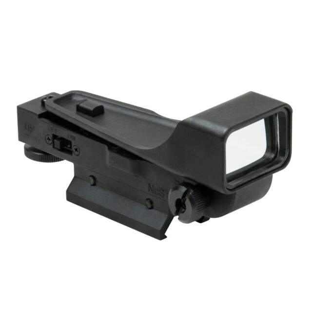 NcStar BLACK Gen 2 DP Red Dot Reflex Optic w/ Aluminum Body Weaver Mount DPV2
