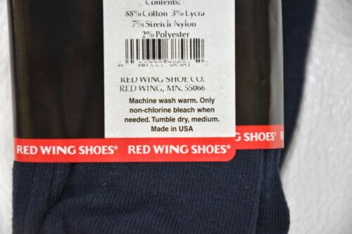 New Red Wing Chaussettes pour robe ou Casual Confortable porter comme fer made in USA