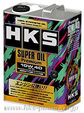 New HKS Super Oil Premium  API/SN 10w40 Fully Synthetic  (4 Litres)  52001-AK110