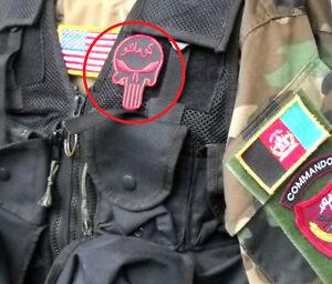 Kandahar Whacker Club Jtf Afghan Partnering Unité Apu Velkrö Yeux Rouges Skull
