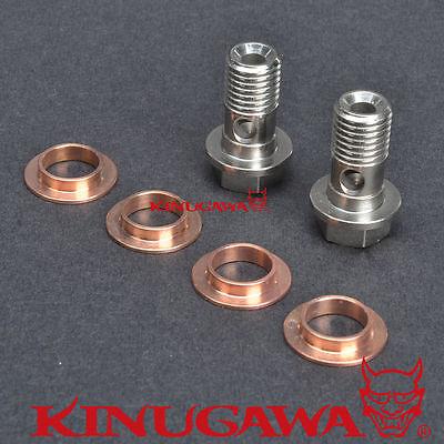 For GT17 to TD04HL Kinugawa Turbo Oil /& Water Pipe Kit SAAB 9-5 TD04HL 15T 19T
