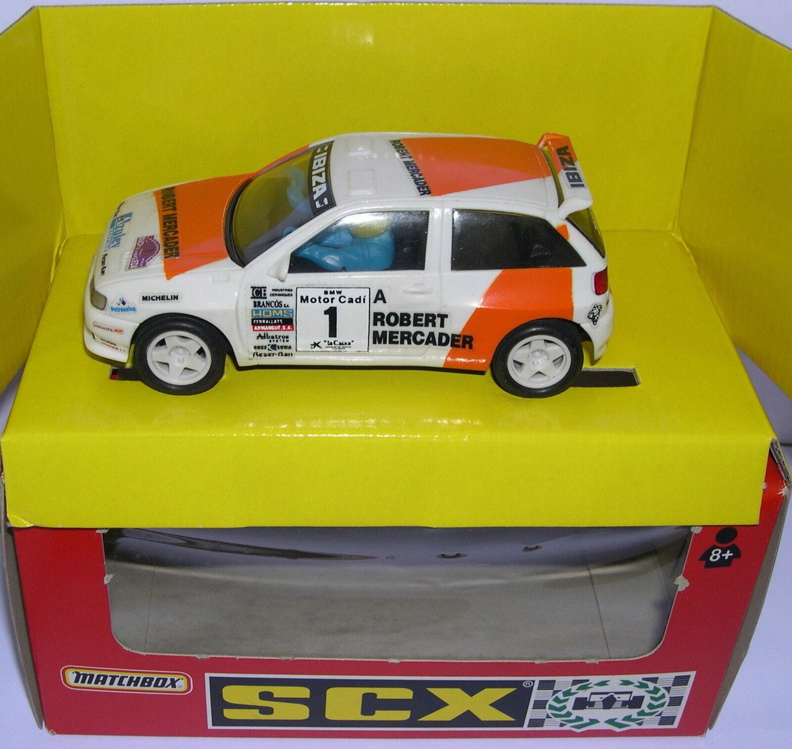 SCALEXTRIC SCX 83900.20 SEAT IBIZA COUPE  1 MERCANTE DI ROBERT MB
