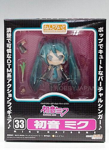 Nendoroid Miku Hatsune Figure 100/% Authentic Japan good smile company vocaloid