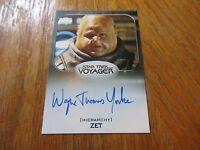 2017 Star Trek 50th Anniversary Wayne Thomas Yorke As Zet Autograph