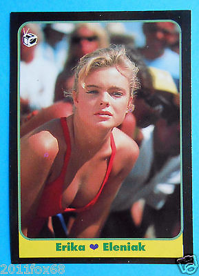 Figurines Cromos Figurine Masters Cards 99 1993 Erika Eleniak Baywatch Tv Gq Chi Fashionable And Attractive Packages Non-sport Trading Cards Collectibles