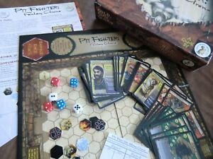 pit fighter fantasy arena board game by cheese weasel 2006