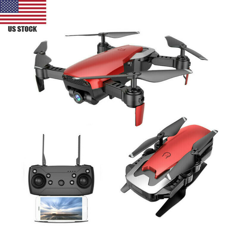 Drone x pro W  0.3MP Camera 2.4G WiFi FPV Altitude Hold Red RC Quadcopter USA s2