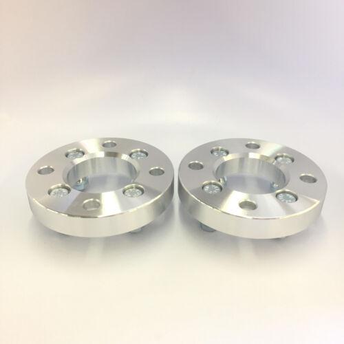 "2 Wheel Adapters4x108 hub 12x1.51.0/"" Inch 25mm wheel to 4x100"