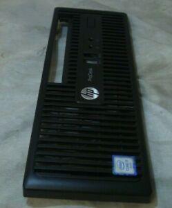 Original-Genuino-HP-PA-757-EliteDesk-USFF-Torre-Placa-Frontal-i7-Etiqueta-Engomada-de-la-cubierta