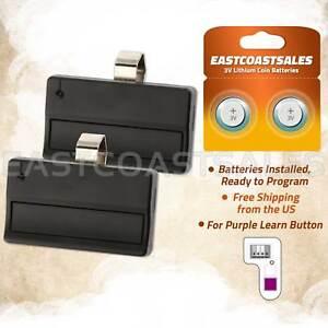 2-Car-Garage-Door-Gate-Remote-Opener-Control-Clicker-for-Liftmaster-371LM-315Mhz