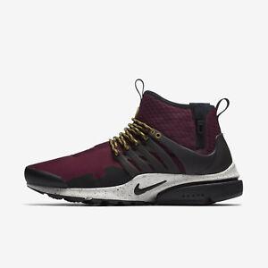 c025c871fdc0 Nike Air Presto Mid Utility Men s Shoe - Bordeaux Black Pale Gray ...