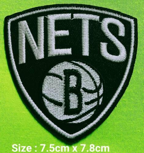 Brooklyn Nets Basketball NBA Sport Logo iron,sewing,Patch,decorate on Fabrics