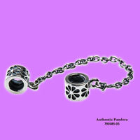 Pandora Flower Safety Chain In Sterling Silver, 790385-05 on sale