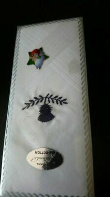 1 X Mens 100% Cotton Handkerchiefs New And Packed Zu Hohes Ansehen Zu Hause Und Im Ausland GenießEn
