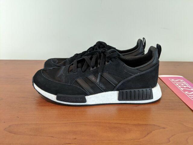 new style 8e722 60012 adidas Originals Boston Super X R1 Boost NMD Shoes Never Made Black US 9