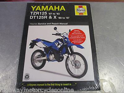 Neu Yamaha Haynes Handbuch Reparatur Pflege Dt125 Dtr125 Dtr Dt 125 Dt125r Tzr Ebay