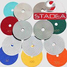 4 Wetdry Pro Diamond Polishing Pads 7 Pc Set1 Backer