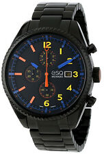 New ESQ Movado 07301452 Catalyst Men's Chrono Black PVD Stainless Steel Watch
