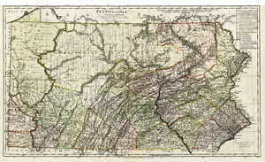 Details about 1797 PA MAP Bristol Yardley Morrisville Quakerstown  on lenni pa map, reading pa map, schuylkill river pa map, chadds ford pa map, letterkenny pa map, doylestown pa map, landenberg pa map, bucks county map, schuylkill haven pa map, brady's lake pa map, pottsville pa map, bryn mawr pa map, andalusia pa map, phoenixville pa map, unicorn lake md map, warminster pa street map, county line pa map, newtown pa map, ridley park pa map, langhorne pa map,