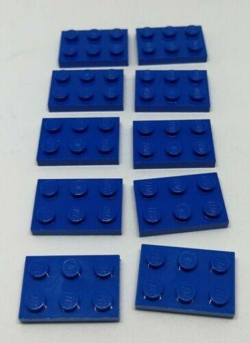 302123 blue 10 x Lego 2x3 Plate blau 3021 NEU!