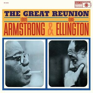 Louis-Armstrong-amp-Duke-Ellington-The-Great-Reunion-New-Vinyl-180-Gram