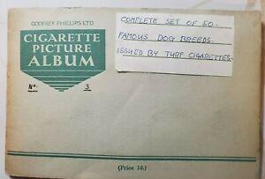 Early-1900-039-s-Godfrey-Phillips-cigarette-show-dog-card-album-complete-rare