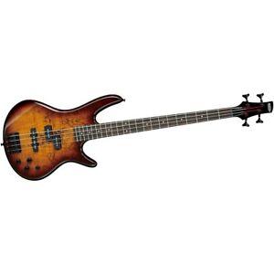 Ibanez GSR200SM 4-String Electric Bass Brown Burst Rosewood fretboard