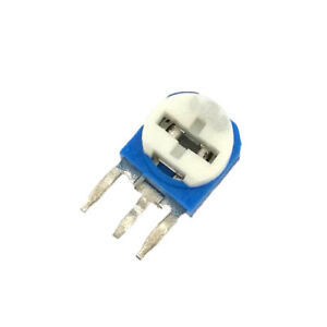 WX050  4.7K Ohm 5W Single Turn Potentiometer Variable Resistor WX112 2pcs