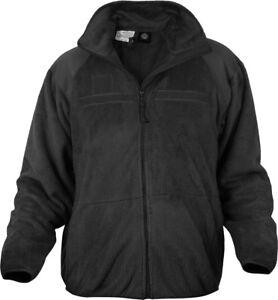 Black ECWCS Gen III Level 3 Military Soft Polar Fleece Jacket  a9e28ad495e