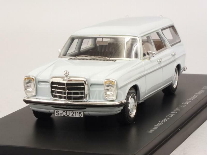 Mercedes 220D W115 Binz Kombi 1973 Light azul 1 43 NEO 47330