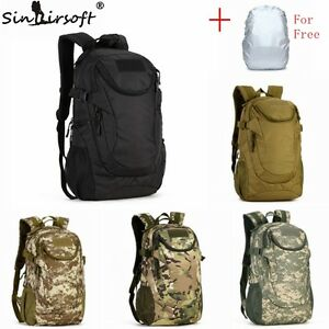 Tactical-Military-25L-Molle-Backpack-Hiking-Camping-Trekking-laptop-school-Bag