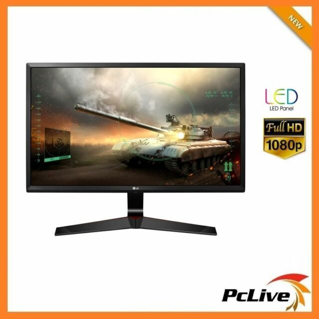 "24"" LG 24MP59G Gaming IPS LED Monitor 1ms FULL HD Wide Screen HDMI DisplayPort"