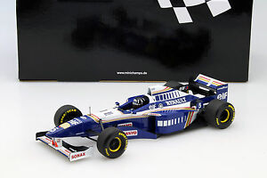 Damon-Hill-Williams-FW18-5-Weltmeister-Formel-1-1996-1-18-Minichamps