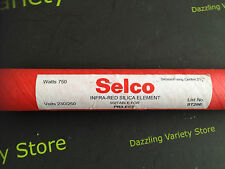 """Selco Infra Red Silica Heater Element 750W 240V ST29E 540mm Prilect 21 1/4"""""""