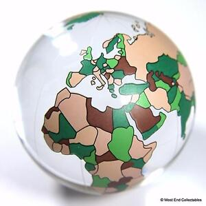 image is loading massive 60mm 2 4 034 world map glass