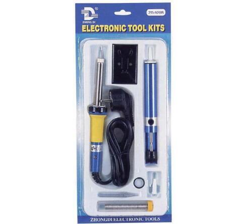 punta de soldadura, bomba de Soldadura Soldador, Kit de herramientas electrónicas ZD-920B Inc