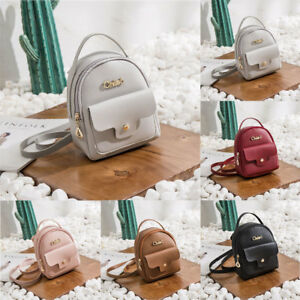 Fashion-Women-Mini-Shoulder-Bag-PU-Leather-Backpack-Messenger-Handbag-Purse
