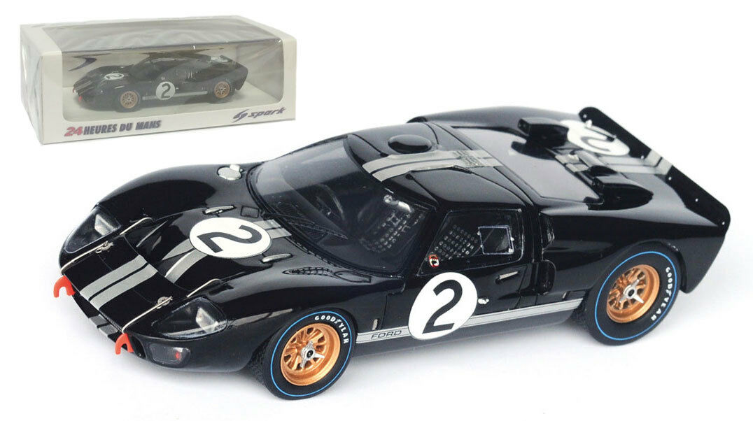 Tu satisfacción es nuestro objetivo Spark 43LM66 Ford Ford Ford MK2  2 Le Mans Winner 1966-McLaren Amon escala 1 43  Entrega directa y rápida de fábrica
